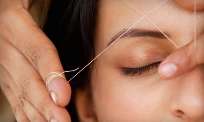 Beyond Beauty European Day Spa - Edmond: $22 for Three Eyebrow Threading or Tinting Sessions at Beyond Beauty European Day Spa in Edmond ($45 Value)