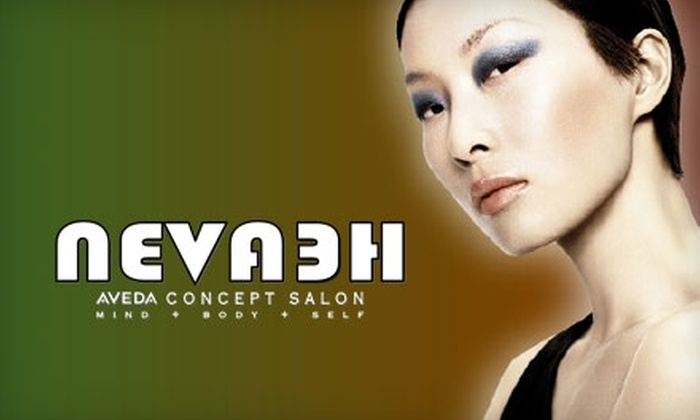 Nevaeh Salon - Leawood: $20 for Shampoo, Haircut, Styling, and Scalp Massage at Nevaeh Salon (Up to $42 Value)