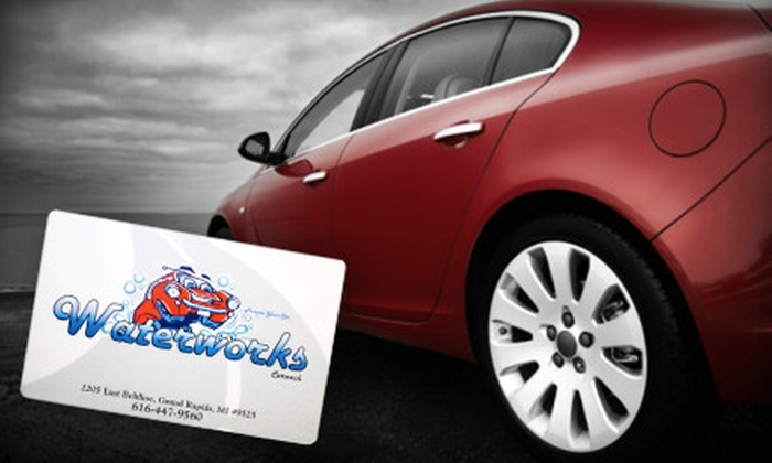 Waterworks Car Wash - Northeast Grand Rapids: $25 for a $50 Gift Card to Waterworks Car Wash