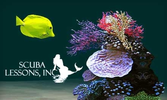 Scuba Lessons, Inc. - Eagle Lake: $89 for Discover Scuba Lesson, Adventure Dive, Dive Video ($203 Value), Plus $50 Off Next Class of Choice at Scuba Lessons, Inc.