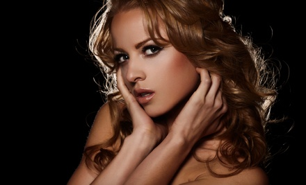 One Custom Airbrush Spray Tan (up to a $39 value) with Bronzer-Booster Drops (a $10 value; up to a $49 total value) - Simply Sunless Keller in Keller