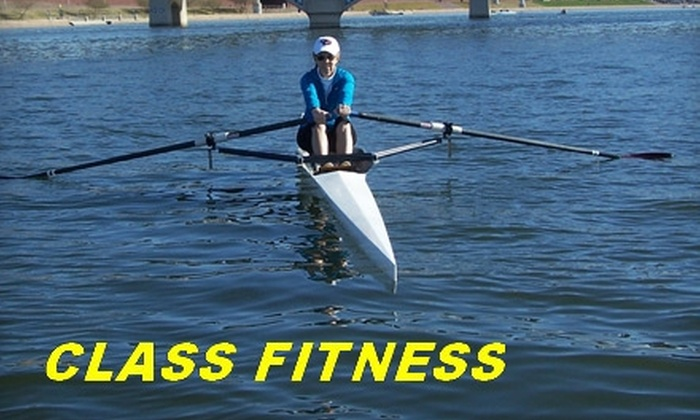 Class Fitness - South Scottsdale: $39 for 10 Rowing Classes on Land at Class Fitness in Scottsdale, Plus $20 Voucher Toward On-Water Classes ($250 Value)