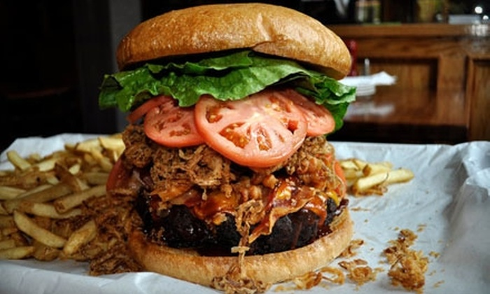 Black Bear Saloon - Downtown: Casual American Dinner or Lunch at Black Bear Saloon in New Haven