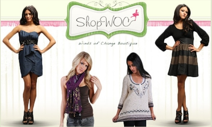 Wind's of Change - Chagrin Falls: $20 for $50 Worth of Clothing and Frills at Winds of Change