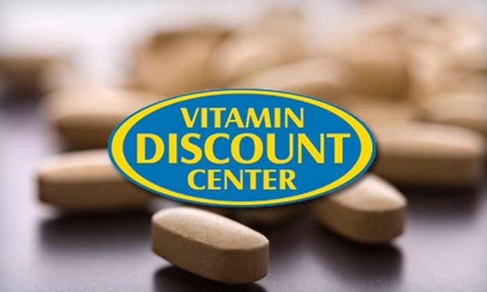 Vitamin Discount Center - Multiple Locations: $15 for $30 Worth of Vitamins, Supplements, and Sports Nutrition Products at Vitamin Discount Center