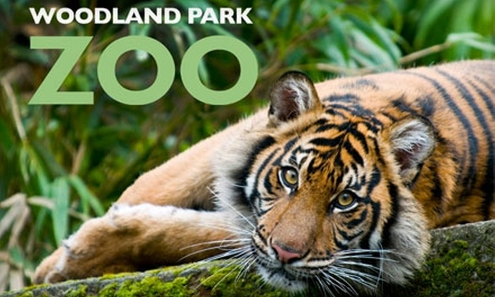 Woodland Park Zoo - Phinney Ridge: $6 for Admission Ticket to Woodland Park Zoo (Up to $11 Value)