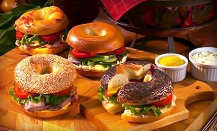 $10 Groupon to The Great Canadian Bagel - The Great Canadian Bagel in Oshawa