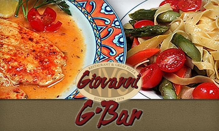 Giovanni's Restaurant - Mott Haven: $15 for $30 Worth of Authentic Italian Cuisine and Drinks at Giovanni's Restaurant and the G-Bar