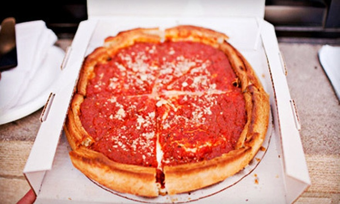 Slice of Chicago Pizza Tours - Near North Side: $22 for a Deep-Dish-Pizza Walking Tour from Slice of Chicago Pizza Tours ($45 Value)