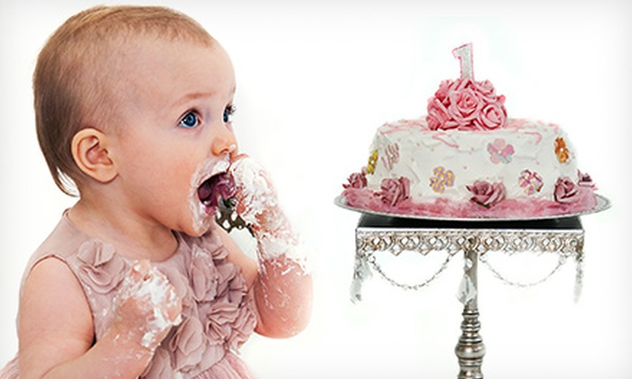 Creatively Speaking Photography - Saskatoon: $89 for a Baby's First Birthday Photo-Shoot Package at Creatively Speaking Photography ($369 Value)
