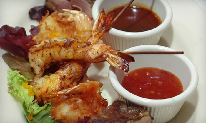 Hibiscus Restaurant - Morristown: $25 for Two-Course Caribbean-American Meal for Two at Hibiscus Restaurant in Morristown (Up to $50.85 Value)