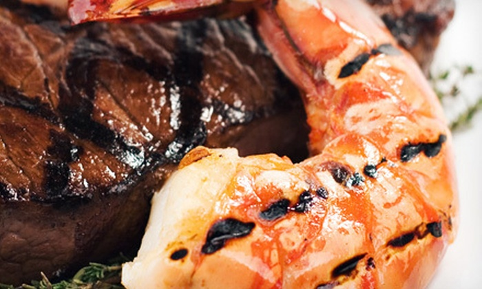 Grill 233 - Yarmouth: American Cuisine for Dinner for Two, Four, or Six at Grill 233 (Up to 59% Off)