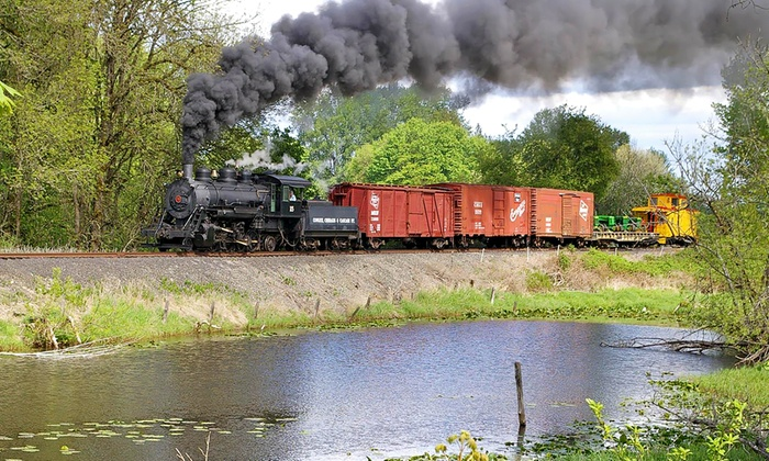 Chehalis-Centralia Railroad & Museum - Chehalis: Coach Steam-Train Ride to Milburn or Ruth from Chehalis-Centralia Railroad & Museum (Up to 41% Off)