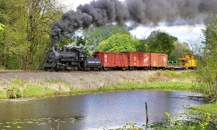 $8.50 for a Coach Steam-Train Ride from Chehalis-Centralia Railroad & Museum ($14 Value)