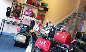 Zarkpa's Purses & Accessories: Handbags and Accessories at Zarkpa's Purses & Accessories (50% Off). Two Options Available.