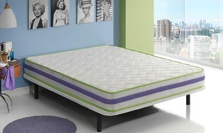 Colchón Lavanda con capa viscoelástica Quality System de última generación y aromaterapia desde 99,90 €