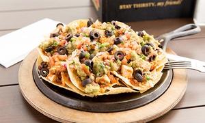 Nacho Daddy: $12 for $20 Worth of Mexican-American Food for Lunch at Nacho Daddy
