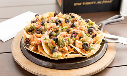 $12 for $20 Worth of Mexican-American Food for Lunch at Nacho Daddy