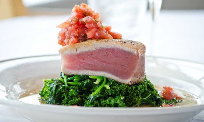Go Fish - Mystic: $28 for $50 Worth of Seafood for Two or More at Go Fish