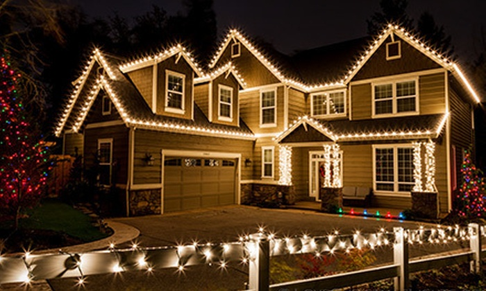 Love Christmas Lights - Mount Pleasant: Holiday-Light Installation and Removal from Love Christmas Lights (Up to 65% Off). Three Options Available.