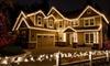 Love Christmas Lights: Holiday-Light Installation and Removal from Love Christmas Lights (Up to 65% Off). Three Options Available.
