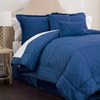 Clearance: Park Ave Collection Embossed Plaid Comforter Set (6pc.)