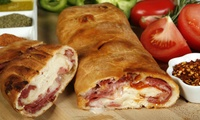 Create Your Own Calzone Plus Salad or Chips for Up to Four