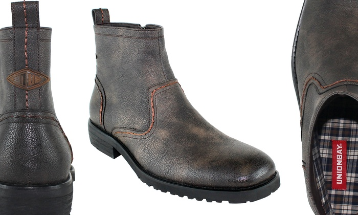 Unionbay Belltown Men's Chelsea Boot: Unionbay Belltown Men's Chelsea Boot (Sizes 7, 8, 8.5)