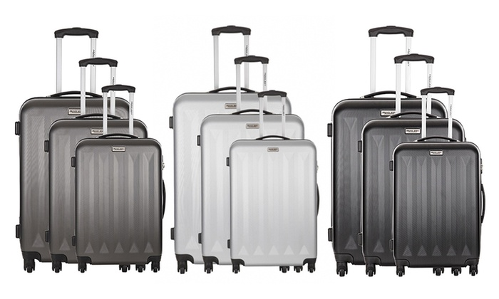817f402a89294 Set 3 valises Corby Travel one | Groupon Shopping