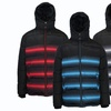 Spire by Galaxy Puffer Jacket with Detachable Hood