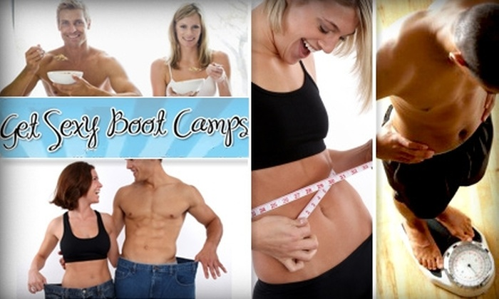 Get Sexy Boot Camp - Multiple Locations: $55 for One Month of Boot Camp at Get Sexy Boot Camps
