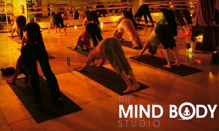 The Mind Body Studio - South Belvidere: $25 for Five Yoga, Pilates, or Zumba Classes at The Mind Body Studio