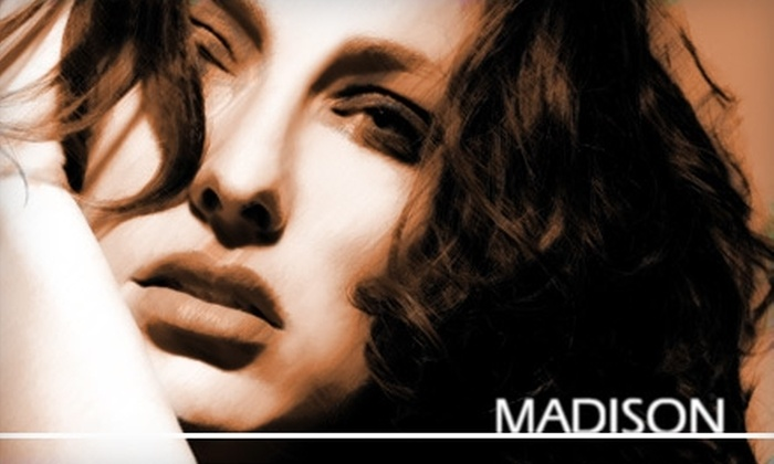 Madison Salon - Orange County: $99 for Brazilian Blowout from Madison Salon (Up to $300 Value)