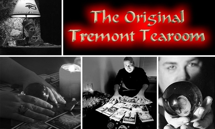 The Original Tremont Tearoom - Multiple Locations: $25 for a 30-Minute Psychic Reading at the Original Tremont Tearoom ($55 Value)