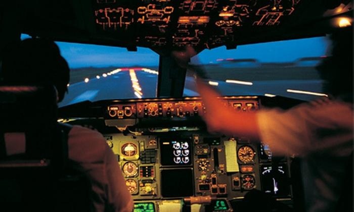 Premier Flight Academy - Multiple Locations: Flight Simulation at Premier Flight Academy (Up to 55% Off). Three Options Available.