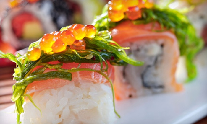 MoMo Sushi Bar. Wok & Grill. - Cañon City: $20 for One Appetizer, Soup and Salad, and Two Specialty Rolls at MoMo Sushi Bar. Wok & Grill. in Canon City (Up to $40.85 Value)