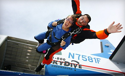 One Tandem Free-Fall Jump on a Weekday (a $304 value) - Skydive Indianapolis in Frankfort