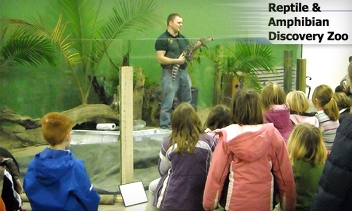 Reptile & Amphibian Discovery Zoo - Clinton Falls: $7 for Two General Admission Tickets to the Reptile & Amphibian Discovery Zoo in Owatonna (Up to $15 Value)