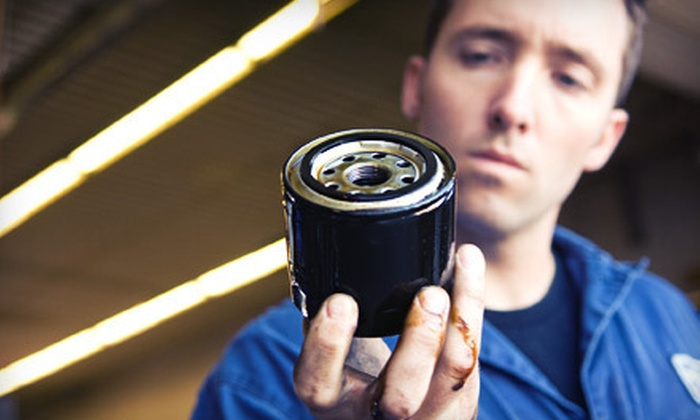 California Collision and Repair - San Mateo: Three or Five Oil Changes with Tire Rotations at California Collision and Repair in San Mateo (Up to 88% Off)