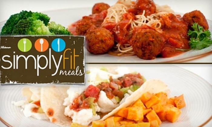 Simply Fit Meals - West University: $10 for $25 Worth of Prepackaged, Healthy, Organic Eats from Simply Fit Meals