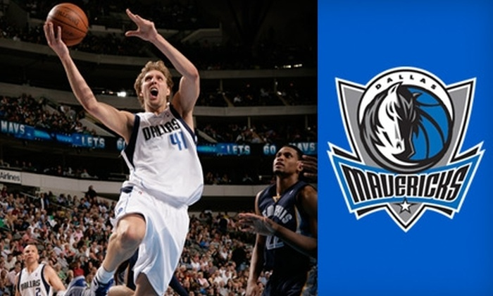 Dallas Mavericks - Oak Lawn: Tickets for Dallas Mavericks NBA Game. Choose from Five Games and Three Seating Options.