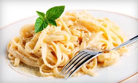 Italian Dinner for Two  - Bella Vita Italian Restaurant in Rendon