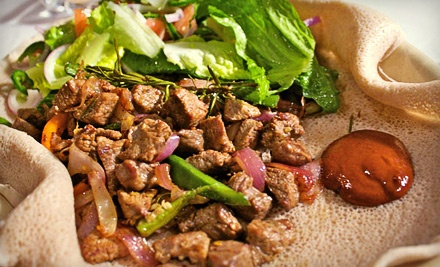 Ethiopiques: Dinner for 2 (up to a $40.50 value) - Ethiopiques in Toronto