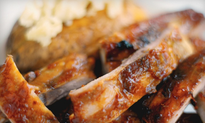 Stevie's Eatery - Marlborough: Barbecue Dinner for Two or Four at Stevie's Eatery in Marlborough