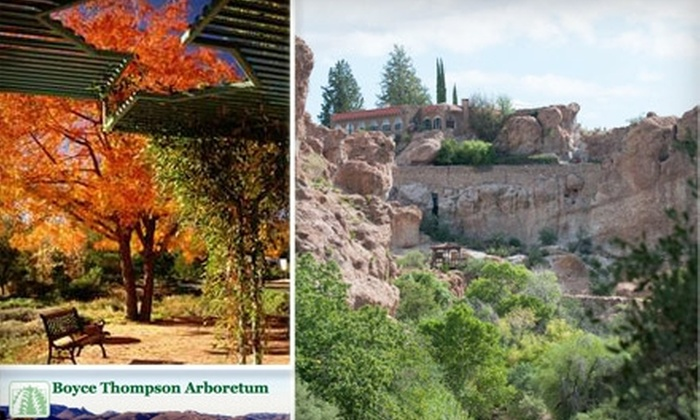 Boyce Thompson Arboretum - Superior: $30 for a Family Membership to Boyce Thompson Arboretum in Superior ($60 Value)