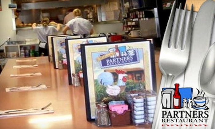 Partner's Restaurant - Agawam: $8 for $16 Worth of Classic Breakfast and Lunch Fare at Partner's Restaurant