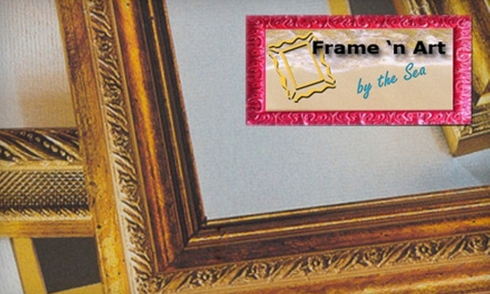 Frame 'n Art by the Sea - Lauderdale-by-the-Sea: $45 for $100 Worth of Custom Framing and More at Frame 'n Art by the Sea