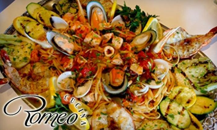 Romeo Cucina - Laguna Beach: $15 for $30 Worth of Italian Cuisine at Romeo Cucina in Laguna Beach