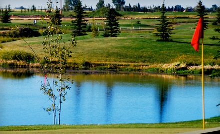 18-Hole Golf Outing with Cart, Range Balls, and Beverages for 2 (a $162 value) - Boulder Creek Golf Course in Langdon