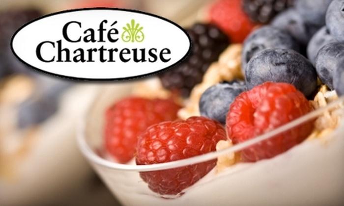 Café Chartreuse - Collingwood: $12 for $24 Worth of Café Fare at Café Chartreuse